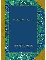 NITYOTSAVA  VOL III