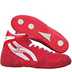 Nivia New Wrestling Shoes, Red 4