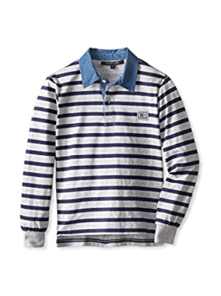 Silvian Heach Kid's Stripe Polo