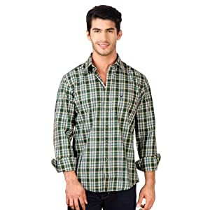 Allen Solly Casual Checkered Custom Fit Shirt