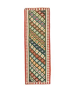 RugSense Alfombra Persian Kashkai Verde/Multicolor 287 x 82 cm