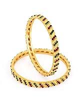 Sukkhi Gold gold-plated Bangle Set for Women 1127VB900