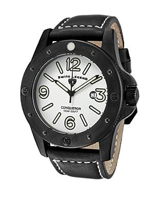 Swiss Legend Reloj Conqueror Negro
