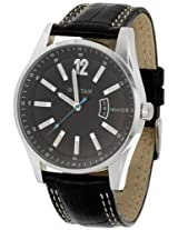 Titan Octane Analog Black Dial Men's Watch - NE9322SL04A
