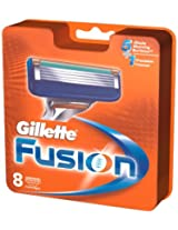 Gillette Fusion Manual Blades - 8 Cartridges