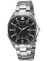 Giordano Analog Black Dial Men's Watch - 1771-11