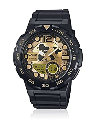 Casio Reloj con movimiento cuarzo japonés Man Aeq-100Bw-9A 45 mm