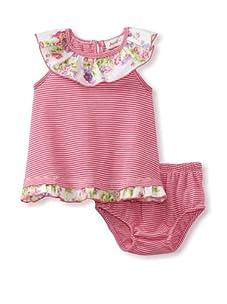 Jupon Baby Margo Tank & Bloomers Set (Pink)