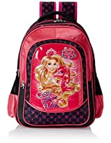 Barbie Pink and Black Children's Backpack (EI-MAT0024)