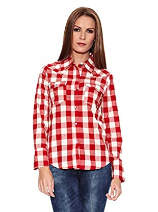 Riverside Camisa Mujer (Rojo)