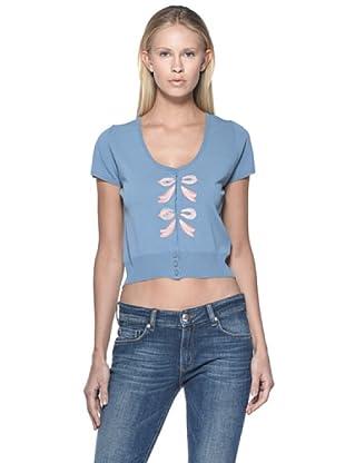 Love Moschino Cardigan (blau/rosa)