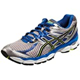 Asics Gel Cumulus 14 M Platinum/Black/Neon Yellow Trainer T246N 9290 13 UK