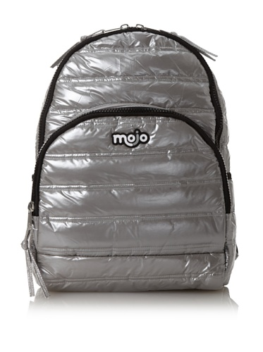 Mojo Pufft Backpack, Silver