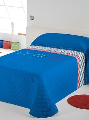 Lief Colcha Bouti Basic Boy Blue (azul / rojo)