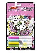 Melissa & Doug On The Go Magicolor Coloring Pad - Friendship and Fun, Multi Color