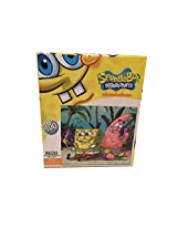 Puzzle Spongebob And Patrick Playing Seashell Walky Talky 100 Piece