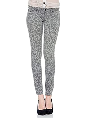 Pepe Jeans London Pantalón Feline (Gris)