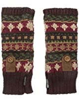 Muk Luks Women's Fairisle Arm Warmers