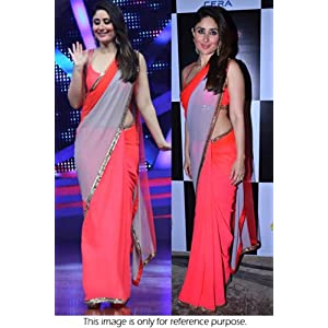 Bollywood Replica Kareena Kapoor Georgette Saree In Pink Colour NC474