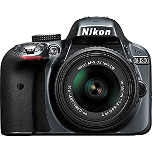 Nikon D3300 DSLR (with AF-S 18-55mm VRII Kit Lens) (Black)