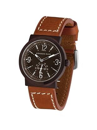 ARMAND BASI A0442G07 - Reloj de Caballero movimiento de cuarzo con correa de piel Camel