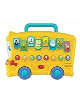 Winfun Animal Sounds Bus, Multi Color