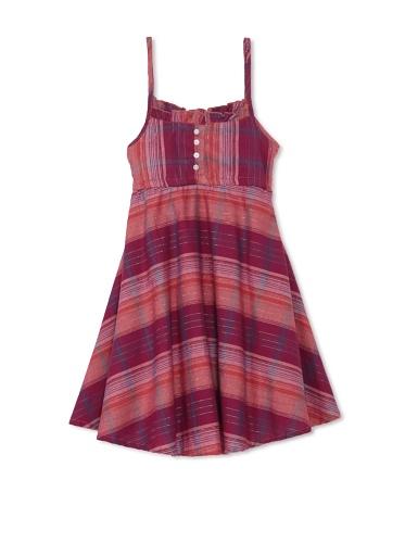 Coupé Cutie Girl's Plaid Dress (Multi Plaid)