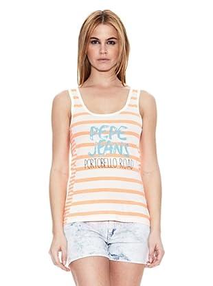 Pepe Jeans London Camiseta Uxbridge (Naranja Claro)