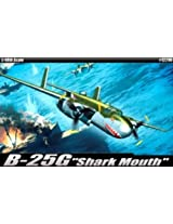 "Academy B-25G ""Shark Mouth"" Airplane Model Building Kit"