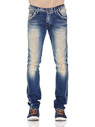 Pepe Jeans London Pantalón Vaquero Bran (Azul lavado)