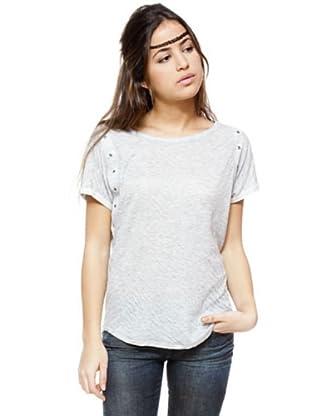 Ikks Camiseta (gris jaspeado)