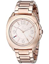 Tommy Hilfiger Women's 1781341 Rose Gold-Tone Stainless Steel Watch