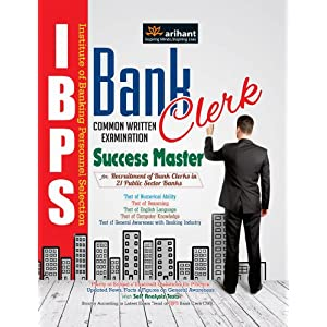 IBPS Bank Clerk Success Master Common Written Examination