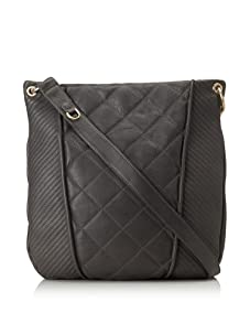 Christopher Kon Women's Adele Quilted Cross-Body (Grey)