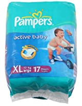Pampers Active Baby 17 Diapers XL