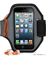 Cygnett Action Armband for iPhone 5 and iPod 5 (Black) - CY0978CAACT