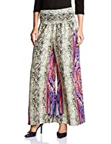 Amare Women's Printed Placement Palazzo