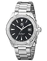 TAG Heuer Men's WAY1110.BA0910 300 Aquaracer Analog Display Swiss Quartz Silver Watch