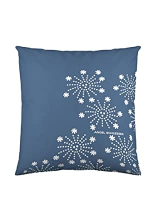 Angel Schlesser Funda De Cojín AS Snow (Azul)