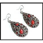 Red Riding Hood Earrings