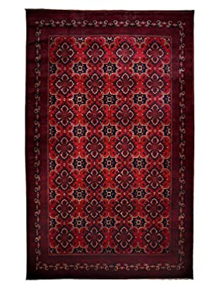 Darya Rugs Traditional Oriental Rug, Red, 9' 9