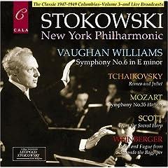 ストコフスキー指揮 Vaughan Williams: Symphony No. 6 in E minor; Tchaikovsky: Romeo and Juliet; etc.の商品写真