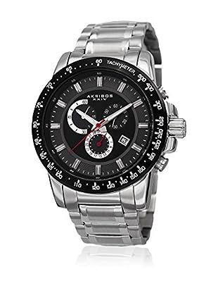 Akribos XXIV Reloj con movimiento cuarzo suizo Man AK649SSB 48 mm