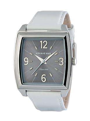 ARMAND BASI A1008L05 - Reloj de Señora movimiento de cuarzo con correa de piel Blanca