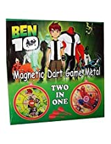 Ben10 2 In 1 Magnetic Dart Game Metal
