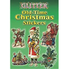 Glitter Old-Time Christmas Stickers (Dover Stickers)