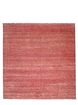 Darya Rugs Modern Oriental Rug, Raspberry, 8' 10
