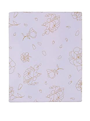 Twinkle Living Rose Fitted Sheet (Lavender/French Grey)