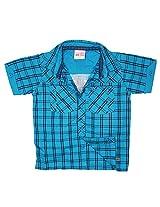 FS Mini Klub Boys' Blue Shirt