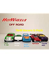 Hot Wheels - 5 Cars pack Thrill Racers 5